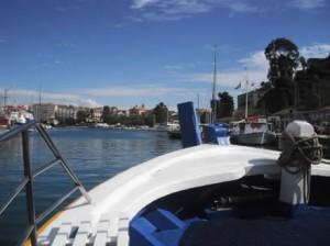 Kaiki Boat in Corfu