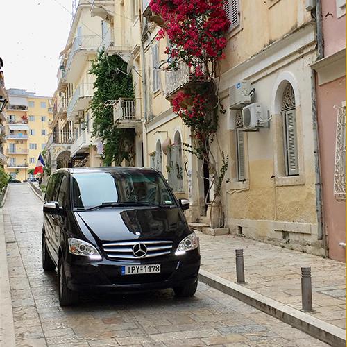 Corfu Private Chauffeur Service