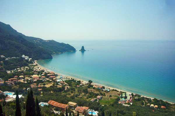 Ammos Bay Corfu