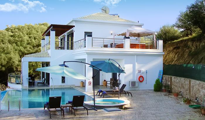 IONIAN PEARL Luxury Spa Villa Corfu