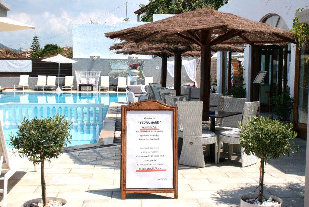 Fedra Mare Studios and Apartments Corfu